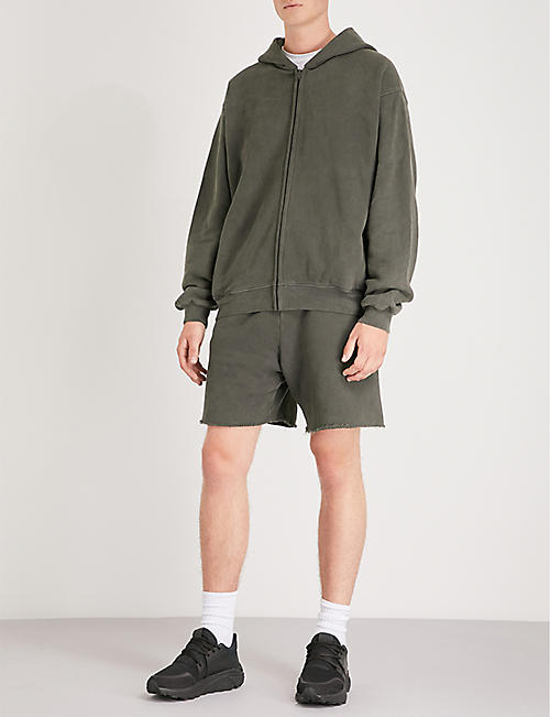 YEEZY Season 6 cotton-jersey shorts