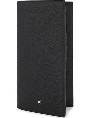 MONTBLANC Grained leather billfold wallet