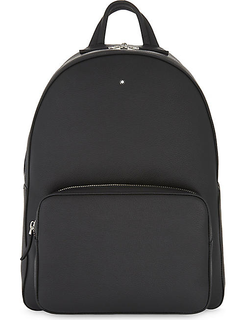 MONTBLANC: Soft grained leather backpack