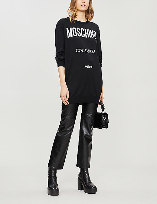 MOSCHINO Couture cotton dress