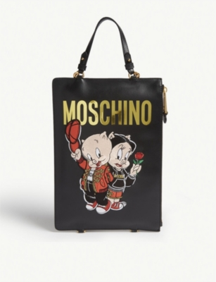 MOSCHINO Porky Pig backpack