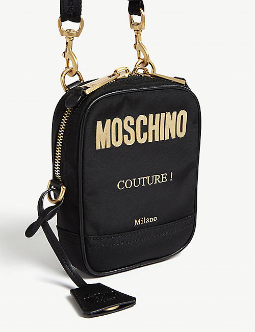 MOSCHINO Nylon messenger bag