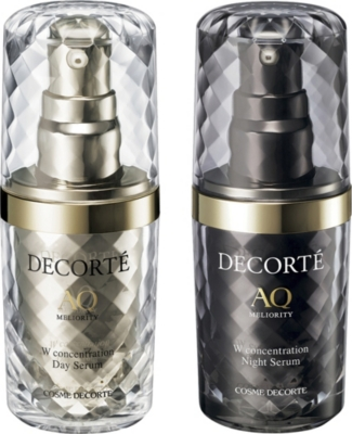 DECORTE AQ Meliority W Concentration day and night serum