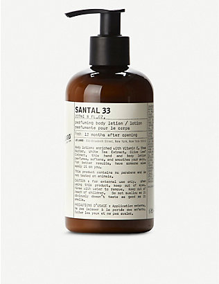 LE LABO: Santal 33 body lotion 237ml