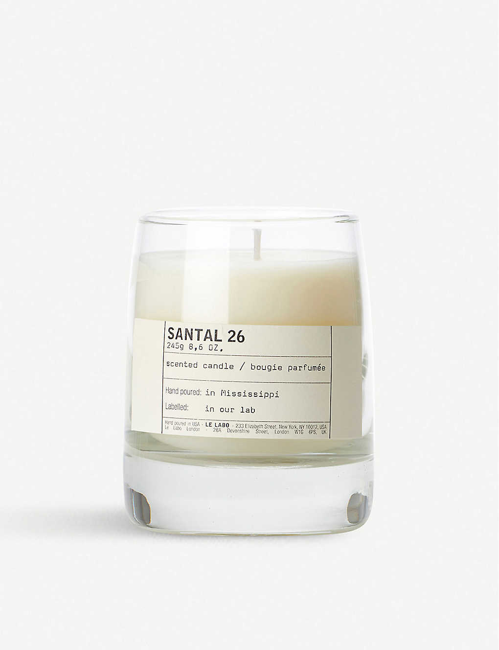 LE LABO: Santal 26 scented candle 245g