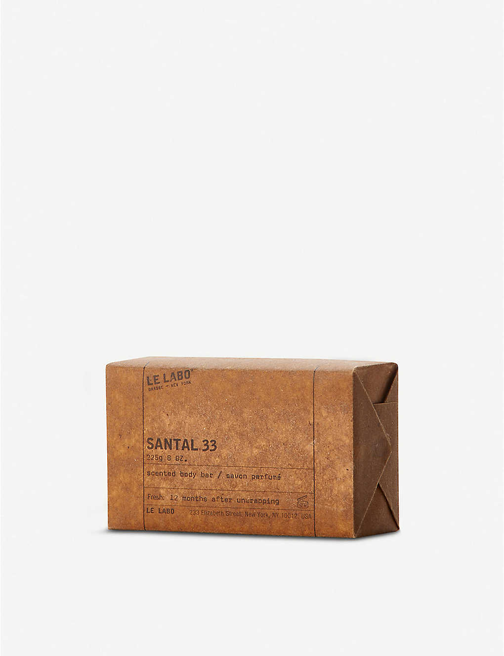 LE LABO: Santal 33 scented body bar 225g