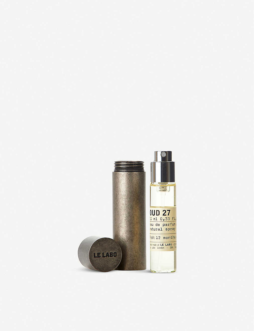 LE LABO: Oud 27 Travel Tube Kit 10ml