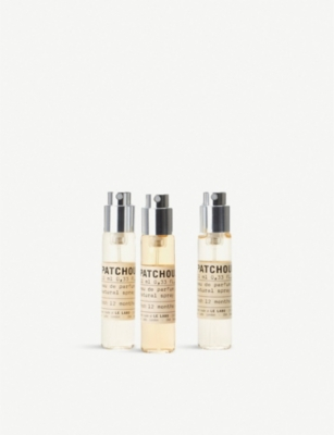 LE LABO Patchouli 24 Eau de Parfum Travel Tube Refills 3x10ml