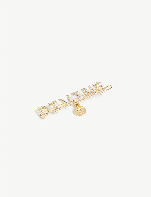 LELET NY Exclusive Divine 18ct gold-plated hair clip