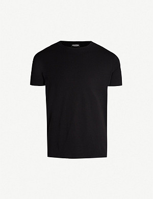 DSQUARED2 Logo-print stretch-cotton T-shirt