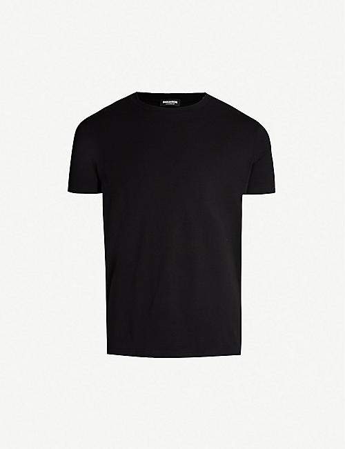 2b36ca71 DSQUARED2 Logo-print stretch-cotton T-shirt