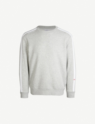 CALVIN KLEIN Logo-print cotton-blend sweatshirt