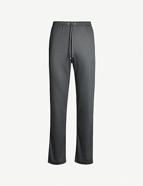 ZIMMERLI Relaxed-fit cotton-blend jogging bottoms