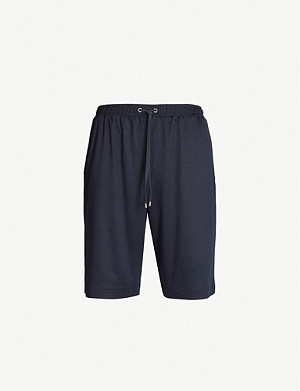 ZIMMERLI Relaxed-fit cotton-blend shorts