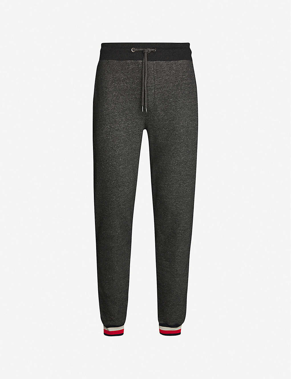 TOMMY HILFIGER: Tapered recycled polyester jogger bottoms