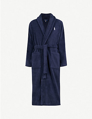 POLO RALPH LAUREN: Terry towelling dressing gown