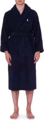 Polo Ralph Lauren Terry Towelling Dressing Gown Selfridges Com