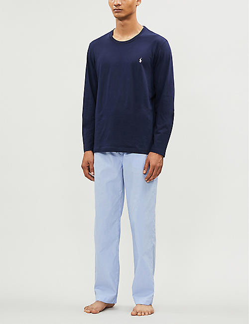 POLO RALPH LAUREN Gingham cotton-poplin pyjama bottoms