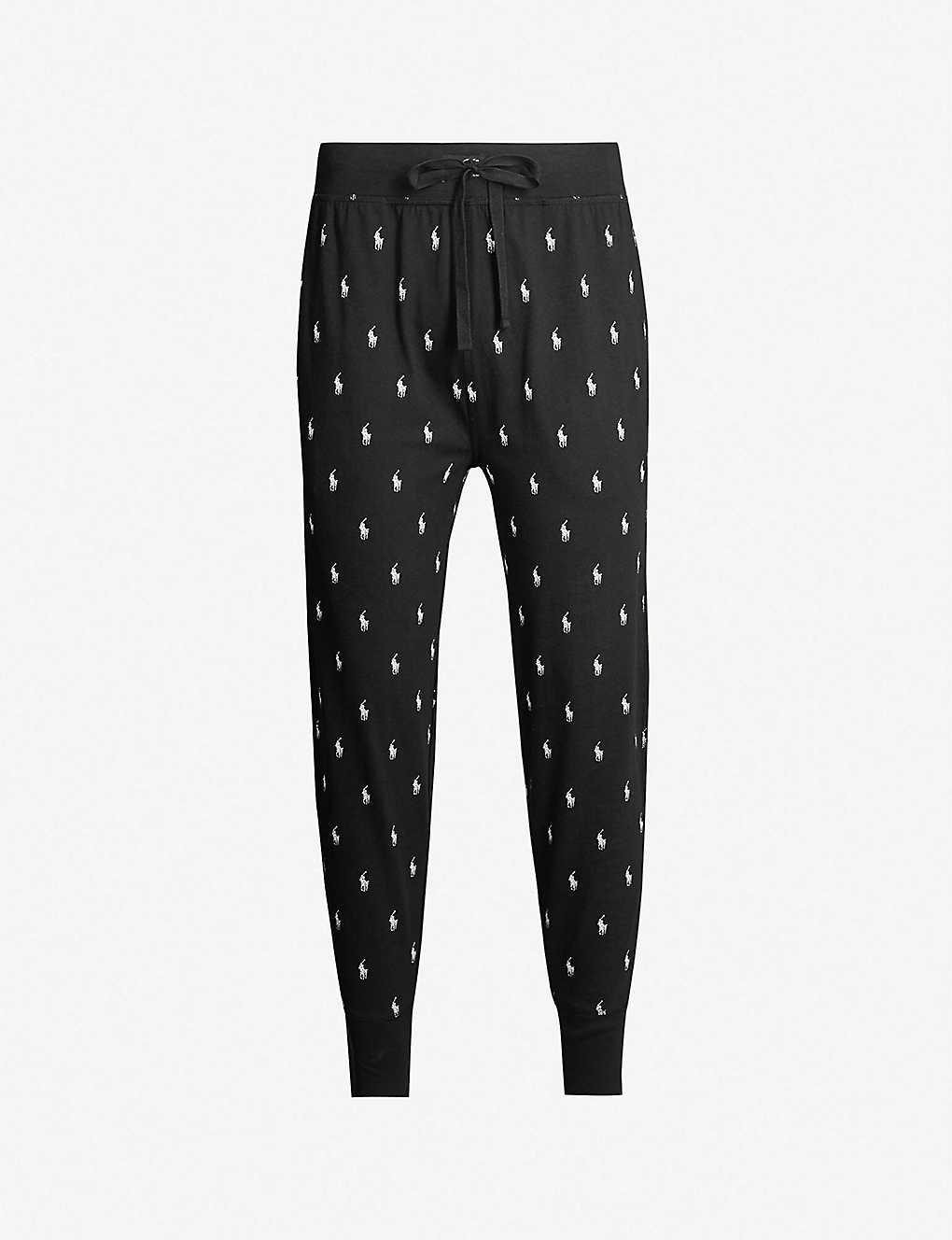 85d49d9c4e52b POLO RALPH LAUREN - Logo-print cotton-jersey pyjama bottoms | Selfridges.com
