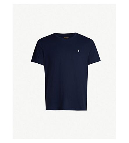 0a2e7cb8 POLO RALPH LAUREN - Crewneck cotton-jersey T-shirt | Selfridges.com