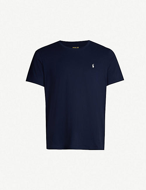 POLO RALPH LAUREN: Crewneck cotton-jersey T-shirt