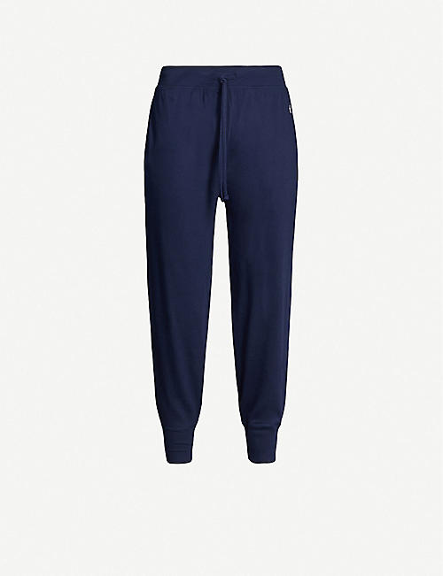 POLO RALPH LAUREN Logo cotton-jersey pyjama bottoms