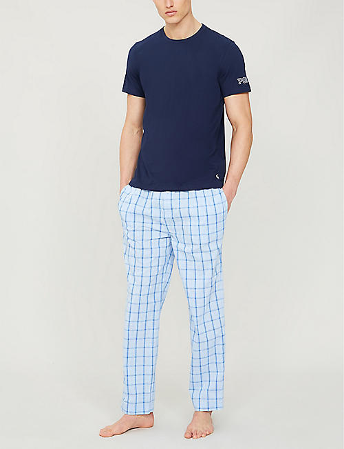 POLO RALPH LAUREN Checked regular-fit cotton pyjama bottoms