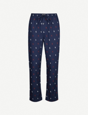 POLO RALPH LAUREN Logo-print cotton pyjama bottoms