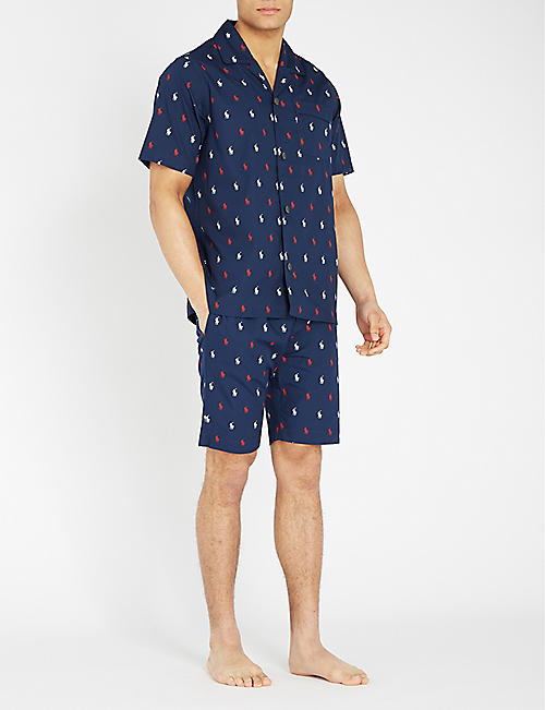 POLO RALPH LAUREN Logo-print cotton pyjamas