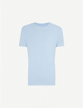 DEREK ROSE: Basel crewneck stretch-modal T-shirt