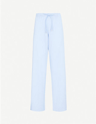 DEREK ROSE: Basel casual stretch-modal trousers