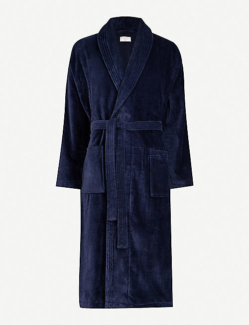 DEREK ROSE: Tritan cotton dressing gown
