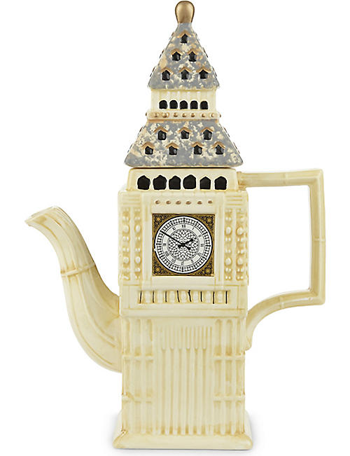 ELGATE Big Ben ceramic teapot
