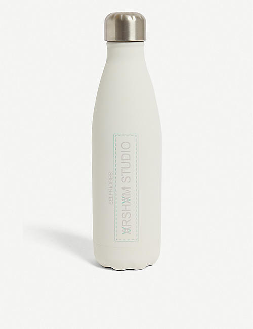DANIEL ARSHAM: Daniel Arsham x S'Well Moonstone stainless-steel water bottle 500ml