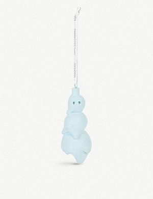 DANIEL ARSHAM Snarkitecture x Seletti resin snowman hanging decoration 9.5cm