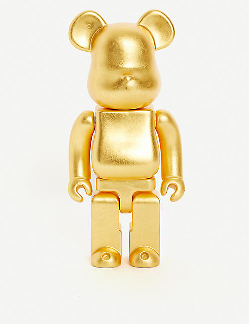 BE@RBRICK Hira Oshi Kutani gold-leaf 400% figure