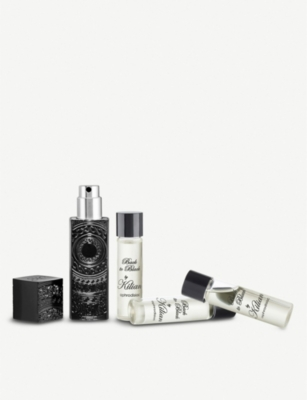 KILIAN Back To Black eau de parfum travel set 30ml