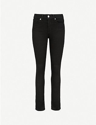 GOOD AMERICAN: Good Legs high-rise skinny jeans