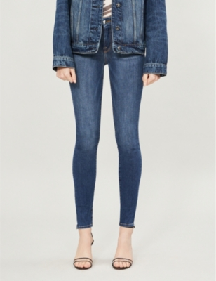 GOOD AMERICAN Good Legs skinny high-rise jeans