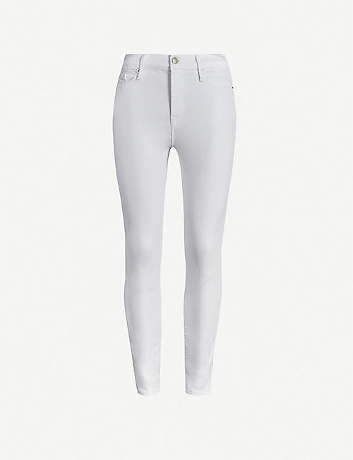 GOOD AMERICAN: Good Legs Crop skinny high-rise jeans