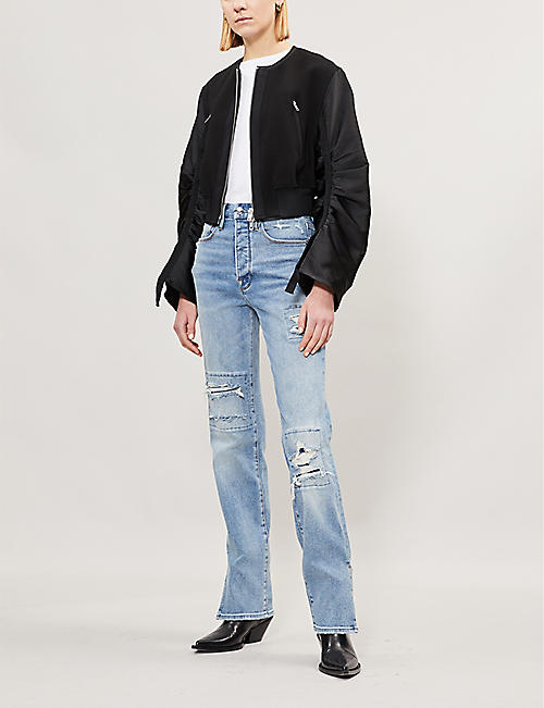 GOOD AMERICAN Good Boy regular-fit straight jeans