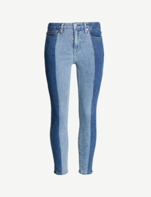 GOOD AMERICAN Good Legs cropped slim-fit high-rise jeans