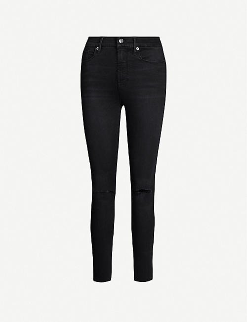 GOOD AMERICAN Good Legs high-rise skinny jeans