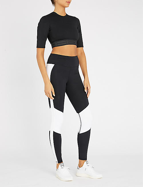 fb647dcac4 GOOD AMERICAN Dual Life high-rise stretch-jersey leggings