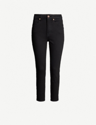 GOOD AMERICAN Good Waist Crop ultra high-rise skinny jeans