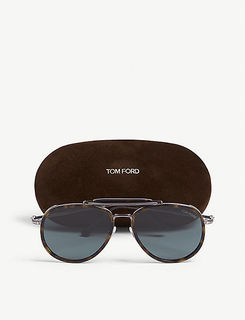 TOM FORD Tf66652N aviator sunglasses