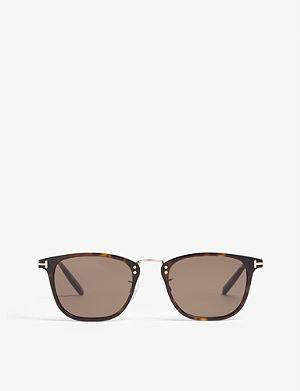 2c686ca38f375 TOM FORD - O Keefe Tf530 square-frame sunglasses