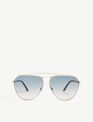 TOM FORD TF681 Binx aviator sunglasses