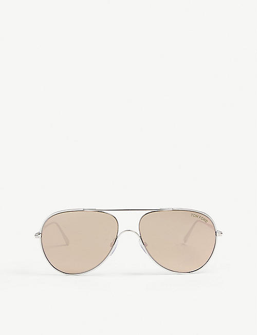 TOM FORD TF695 Anthony aviator sunglasses