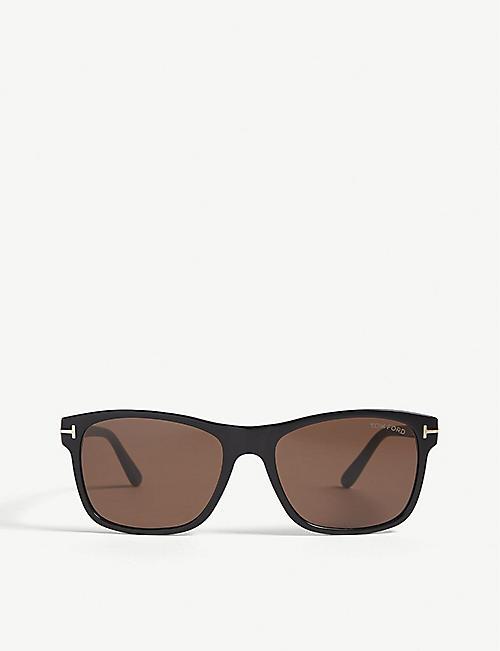 8f681d1f42216d TOM FORD TF698 Giulio square-frame sunglasses